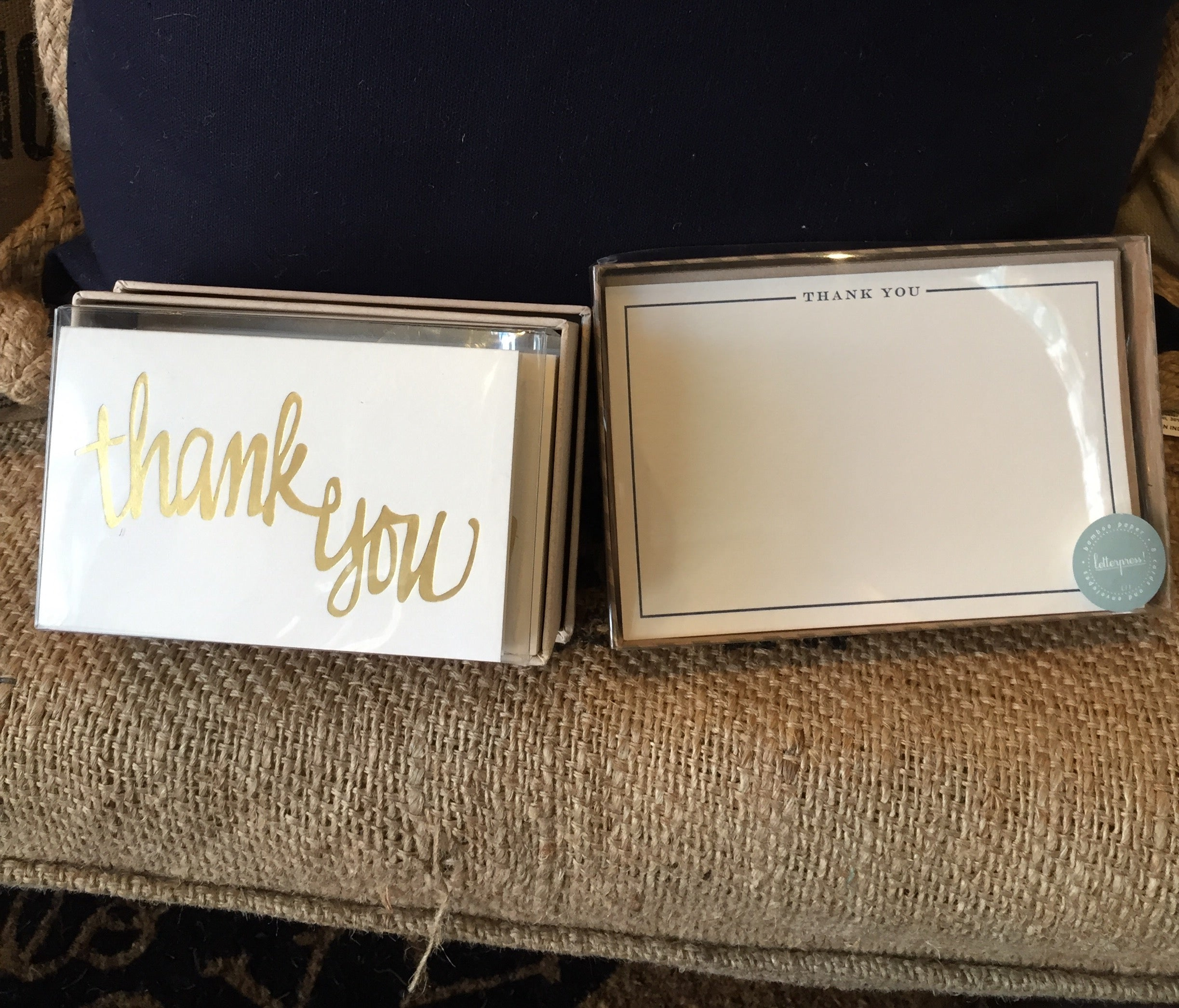 Set your graduate up for successfully displaying the good manners you've taught them. :) Everyone appreciates a handwritten thank you card!