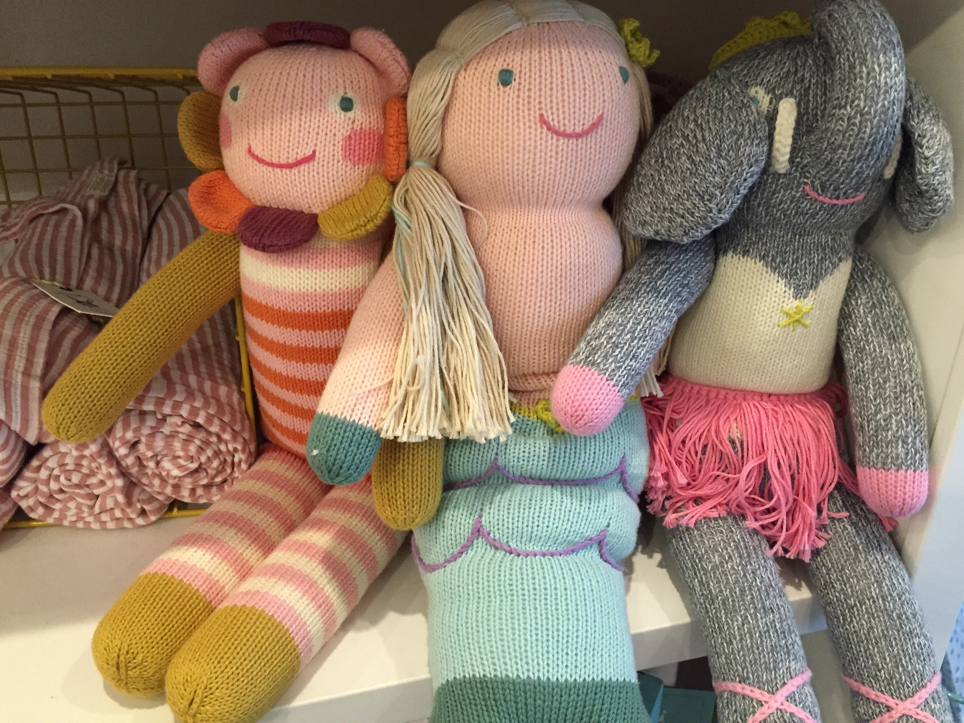 BlaBla dolls are one of our favorite gifts to give the little people in our lives. Hand knit by Peruvian artisans, these dolls are soft and cuddly