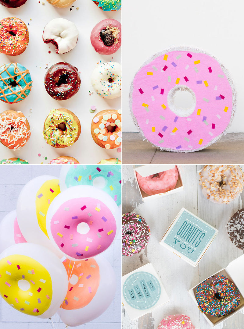 National Donut Day Collage Rock Paper Scissors Blog