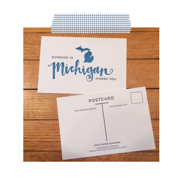 RPS-Michigan Postcard