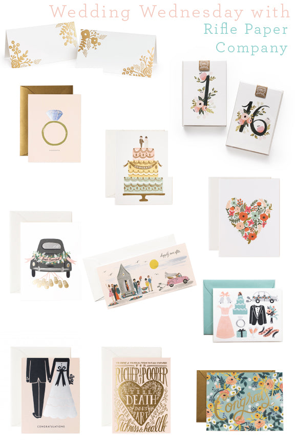 Rifle Paper Co Wedding Trends