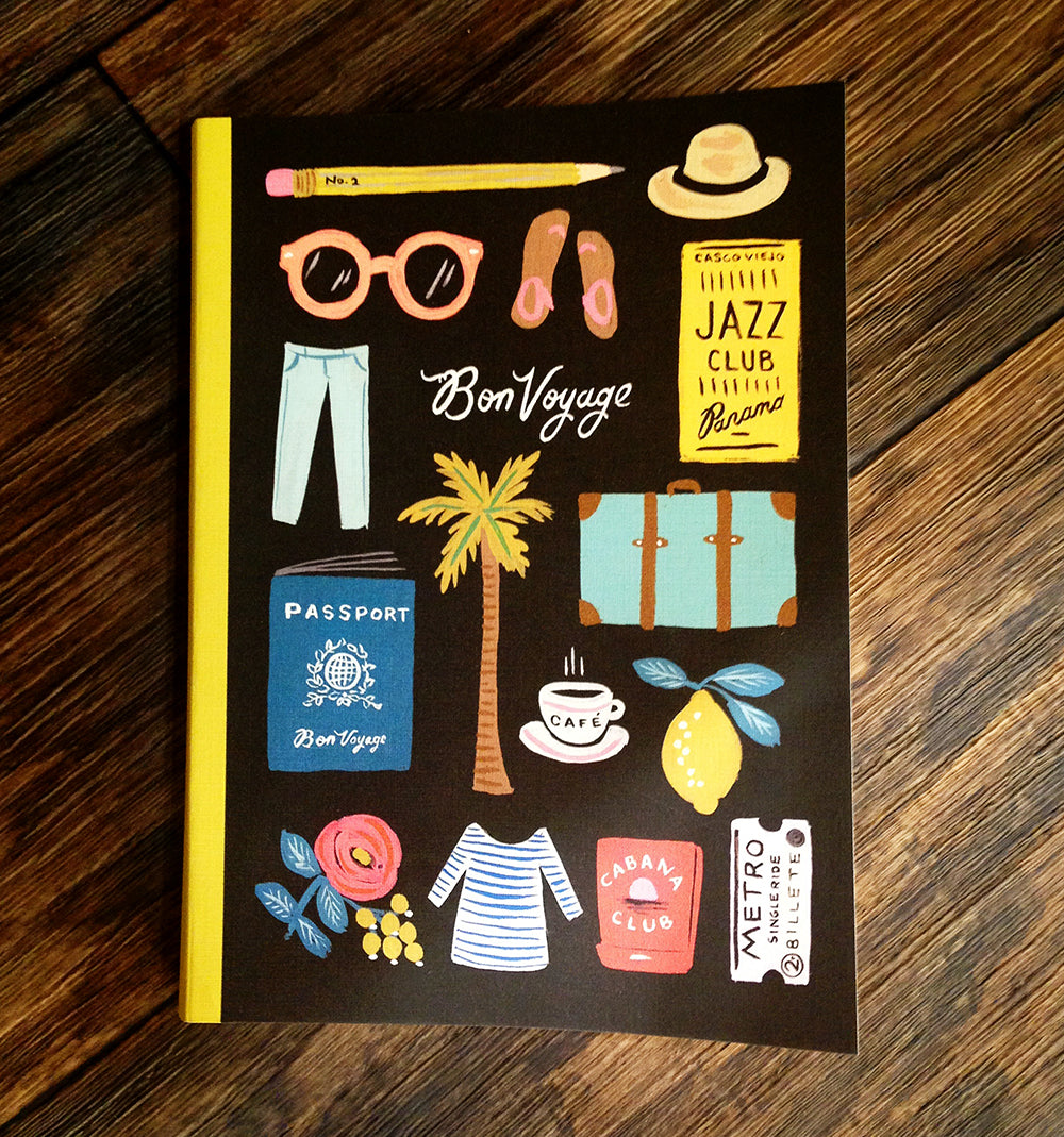 bon voyage rifle notebook