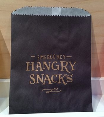ladyfingers letterpress emergency hangry snacks
