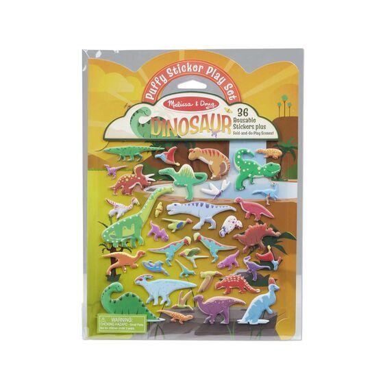Puffy Sticker Set - Dinosaur