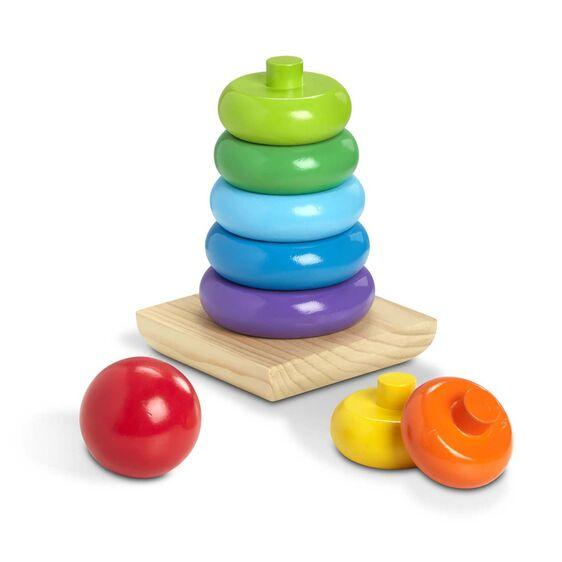 Jumbo Wooden Stacker