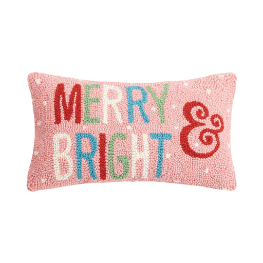 Merry And Bright Hook Pillow