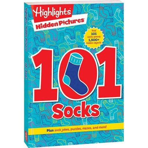 Hidden Pictures: 101 Socks