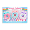 Magic Bakery Unicorn Donuts Scented Erasers - Set of 3