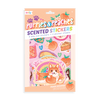 Scented Scratch Stickers: Puppies And Peaches