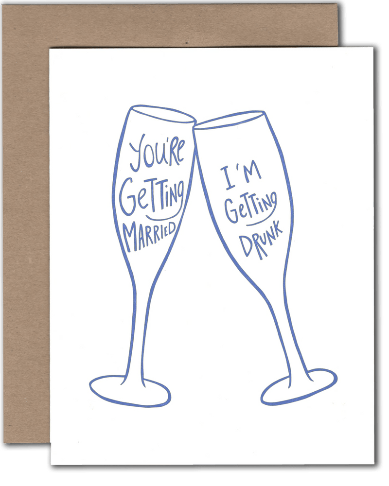 Getting Drunk Card