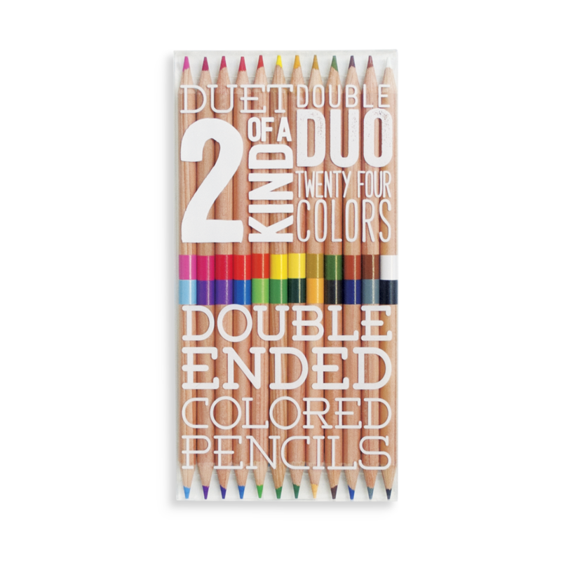 Double Ended Colored Pencils