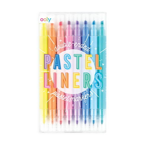 Pastel Liner Double Ended Markers