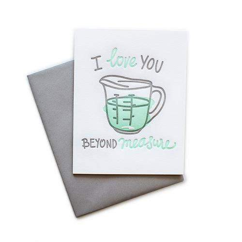 I Love You Beyond Measure Greeting Card