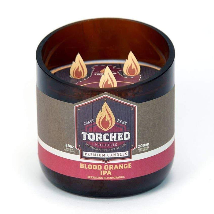 Torched Products - Torched Growler Candle 28oz
