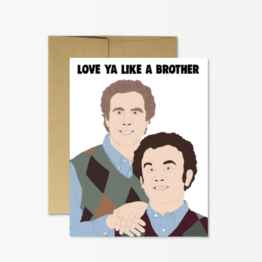 Step Brothers Card