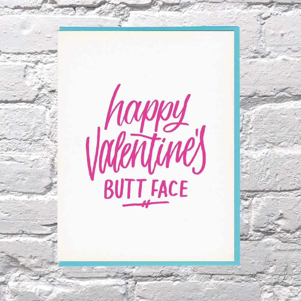 Buttface Valentine's Day Card