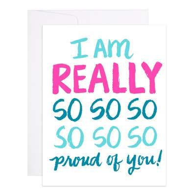 Really So Proud Card