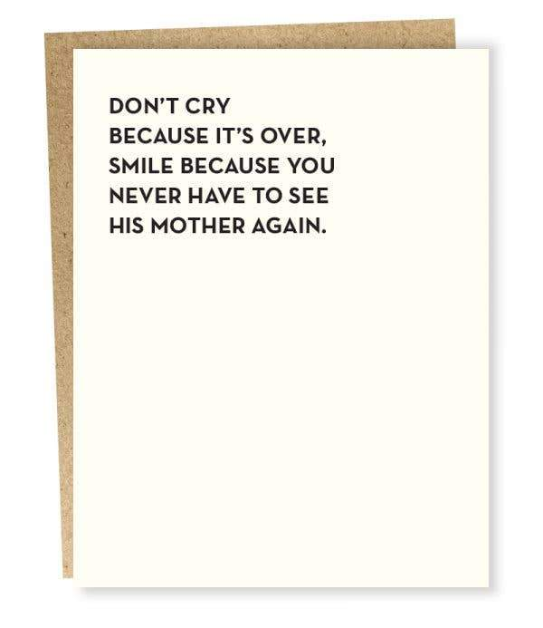 #935: Don't Cry Card
