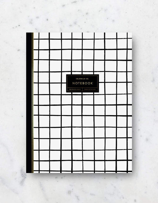 Grid Notebook - 120 Pages