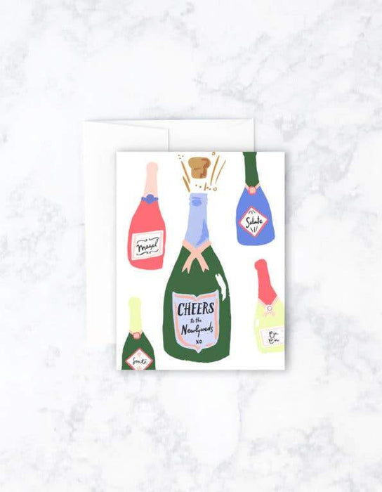 Newlywed Cheers Card