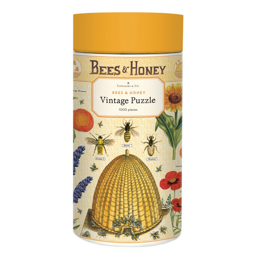 Bees & Honey 1000 Piece Puzzle
