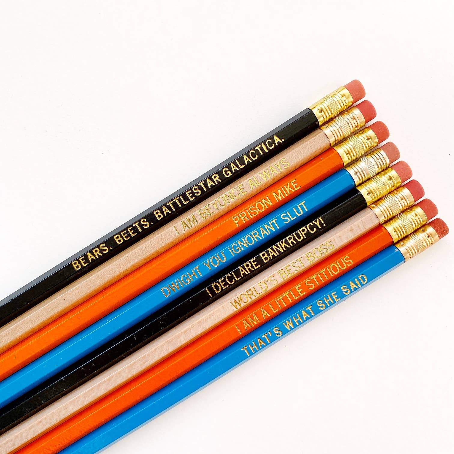 Calliope Pencil Factory - The Office Pencil Set