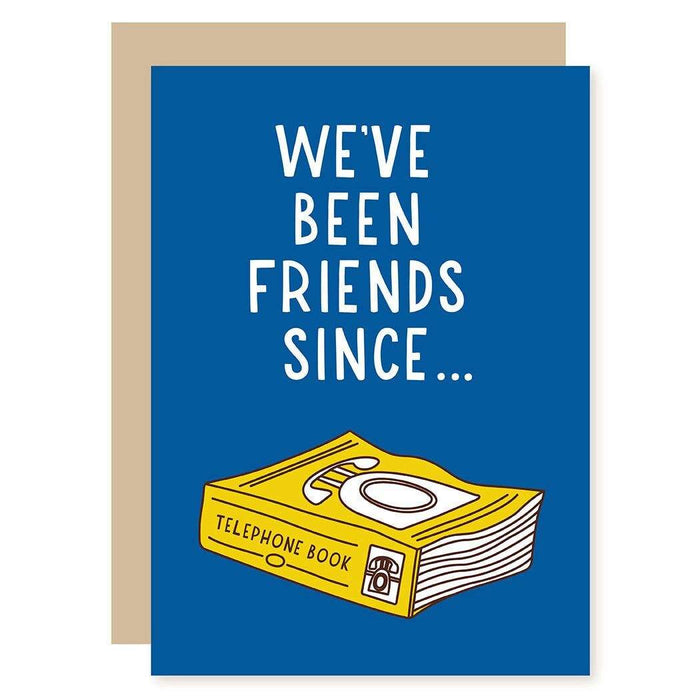 Phone Book Greeting Card