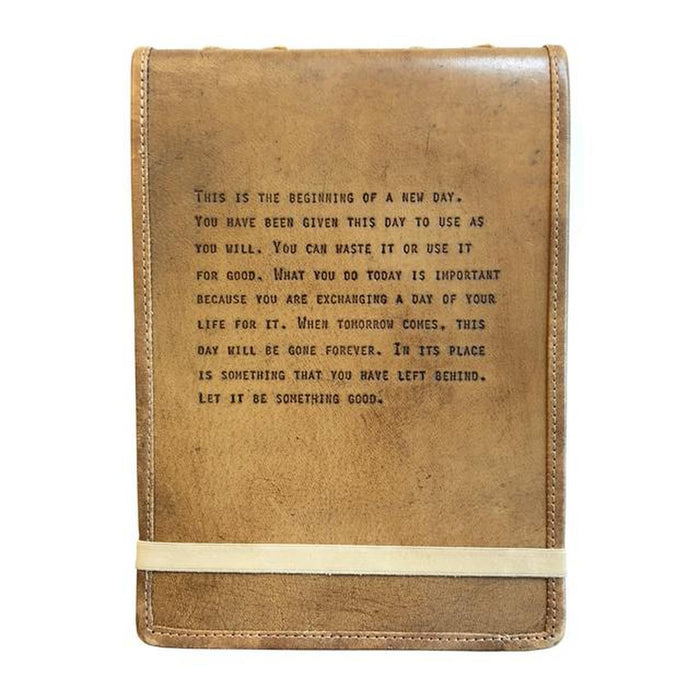 Leather Journal, This is the Beginning