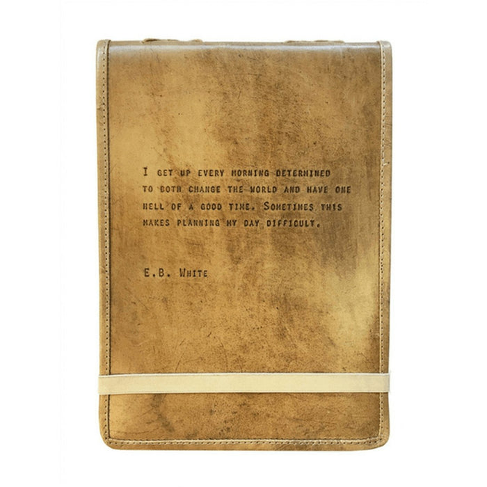 Leather Journal, E.B. White
