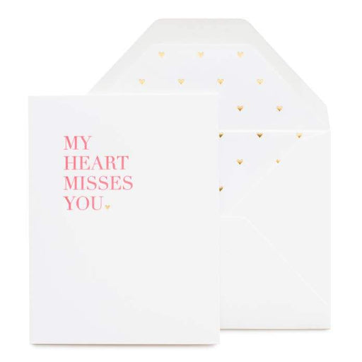 My Heart Misses You Card