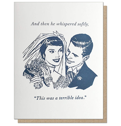 Terrible Marriage Card