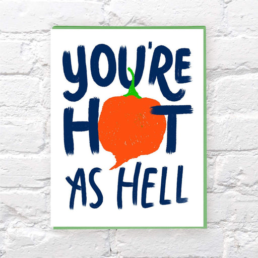 Hot As Hell card