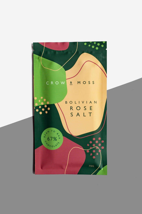 Bolivian Rose Salt Chocolate 67%