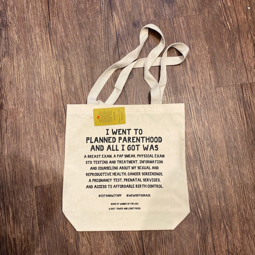 Stand with Planned Parenthood Tote