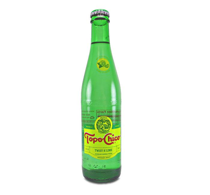 Topo Chico Sparkling Mineral Water with Twist of Lime