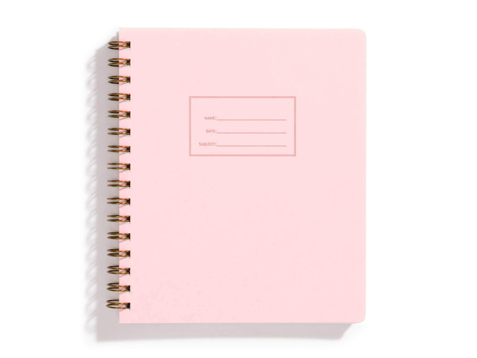 Standard Notebook, Pink Lemonade