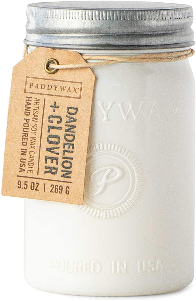 Paddywax Candle-Dandelion & Clover