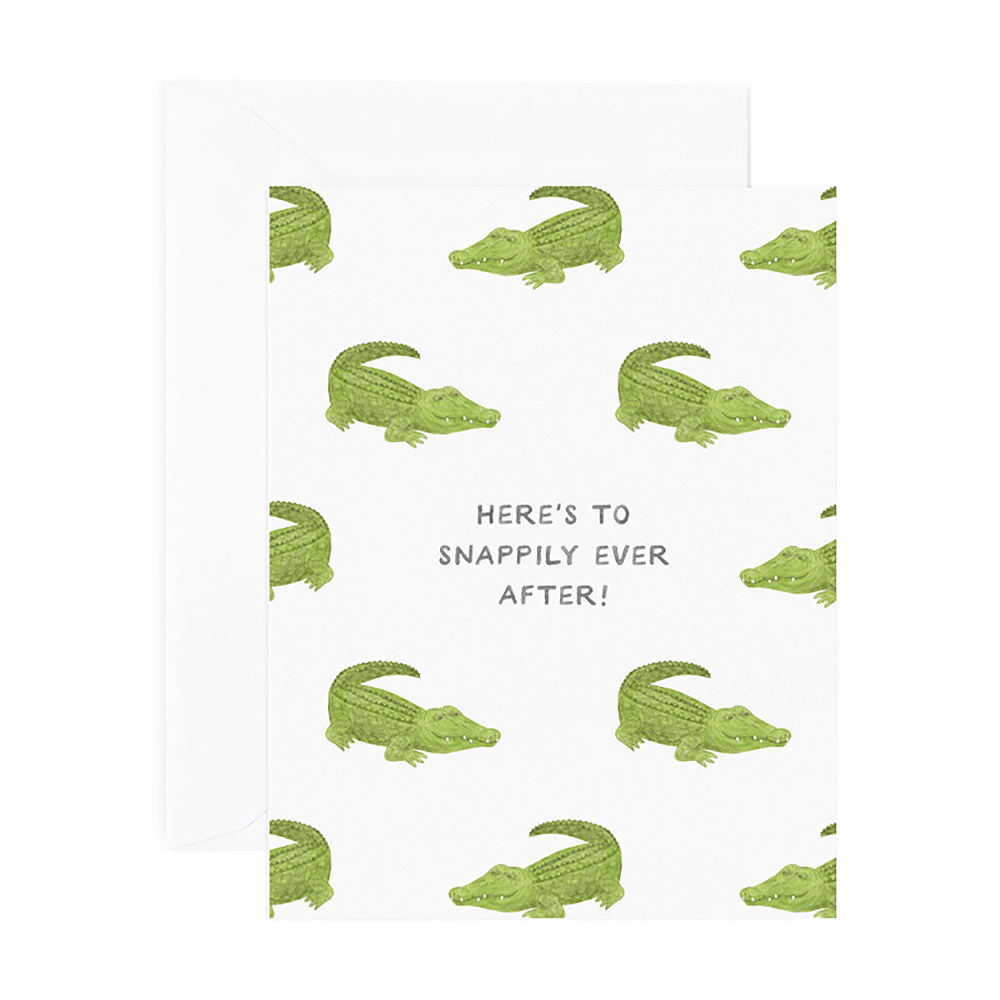 Snappily Ever After Wedding Card