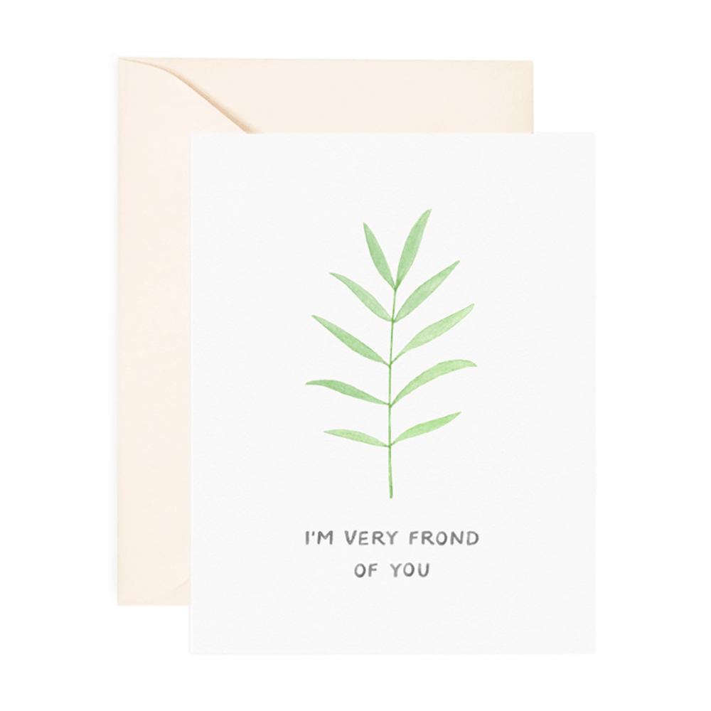 Frond of You Card