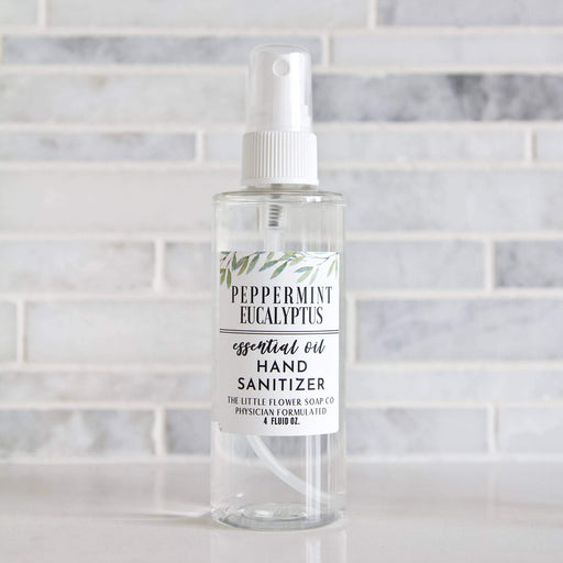 Peppermint Eucalyptus Hand Sanitizer Spray