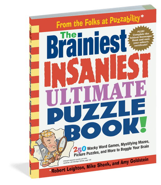 Brainiest Insaniest Puzzle Book
