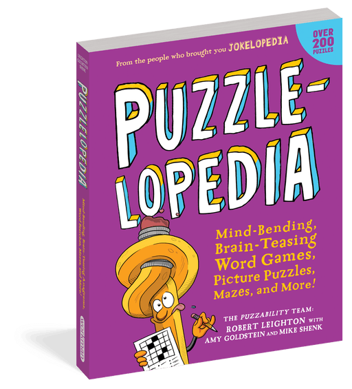 Puzzleopedia Activity Book