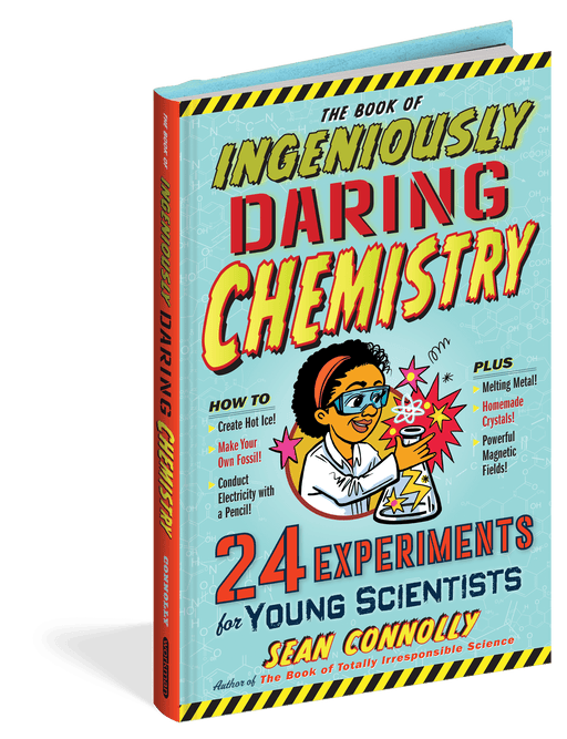 Book of Ingeniously Daring Chemistry Experiments