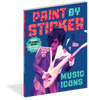 Paint by Sticker: Music Icons
