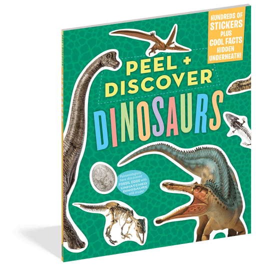 Peel & Discover Dinosaurs Book