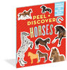 Peel + Discover: Horses Sticker Book