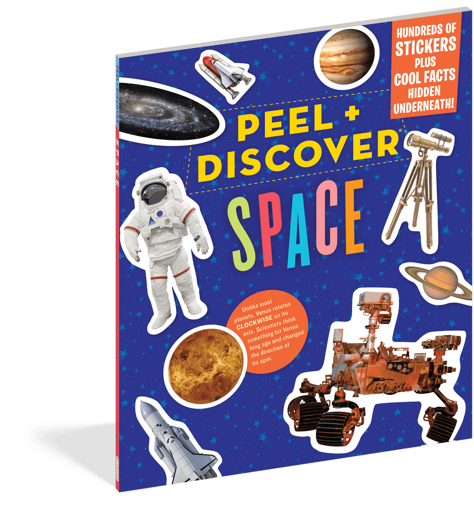 Peel + Discover: Space Sticker Book