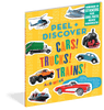 Peel & Discover Cars, Trucks & Trains! Book