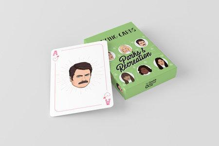 Parks and Recreation Playing Cards