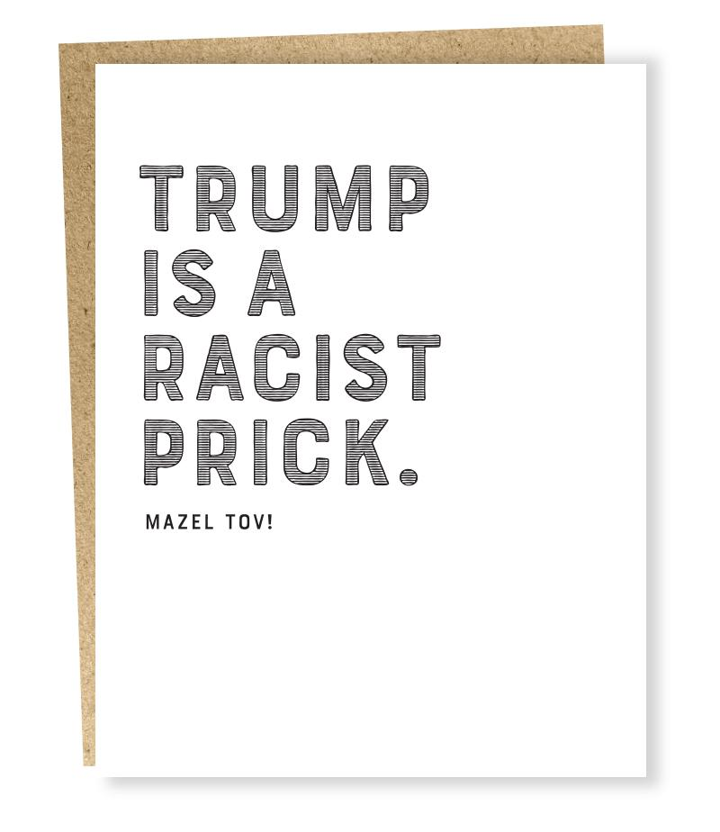 Trump is a... Mazel Tov! Card